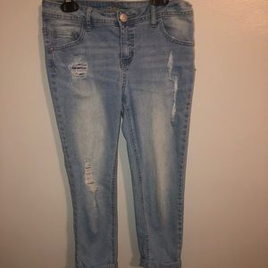 justice cropped jeans